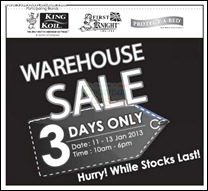 King Koil Warehouse Sale Malaysia 2013 Clearance Branded Shopping Save Money EverydayOnSales