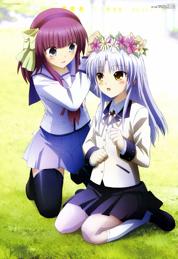 angel beats tenshi totani kento yurippe Kanade