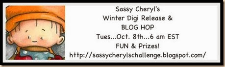 Sassy Cheryl's Winter Blog Hop