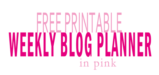 Free weekly_title_pink