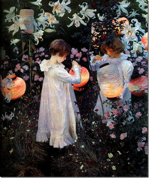 John-Singer-Sargent -Carnation_Lily_Lily_Rose_