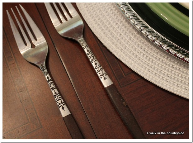 chocolate kisses - flatware