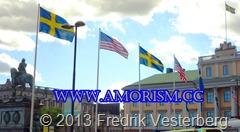 DSC08964 (1) Obama amerikanska flaggan Stjärnbaneret Utrikesdepartementet.. Med amorism