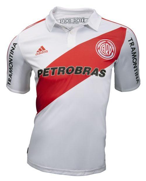 Nueva camiseta de River 110 años - Temporada 2011-2012