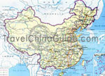 China highway map