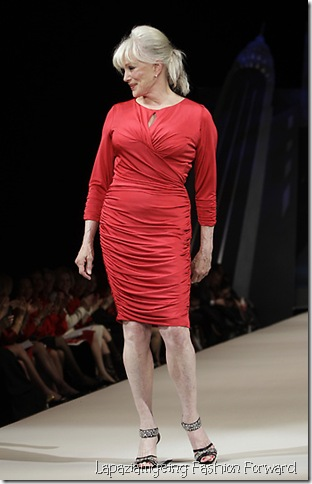 Fashion Heart Truth Red Dress