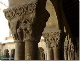 Capitel de la bailarina o Salomé - Claustro de San Pedro el Viejo - Huesca