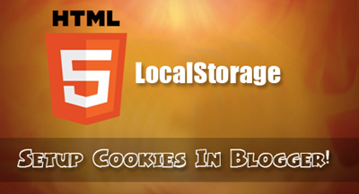 setup cookies in Blogger