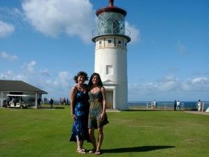 Kara  Mom at lighthouse