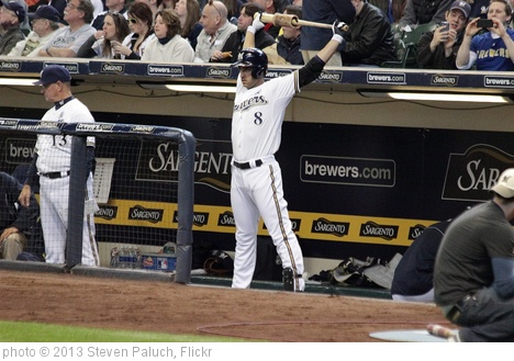 'Ryan Braun - #8' photo (c) 2013, Steven Paluch - license: http://creativecommons.org/licenses/by/2.0/