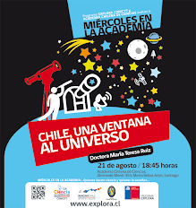 """Chile, una ventana al Universo en los """"Miércoles en la Academia"""""""