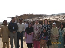 Cristal with Children in  Afghan Refugees Settlelment I-12_HF (4)