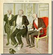 Deschanel chasse Clémenceau du fauteuil de président de la République