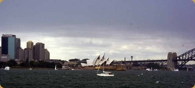 IFR - Tall Ships entering Sydney Harbour - bloody weather!!!!