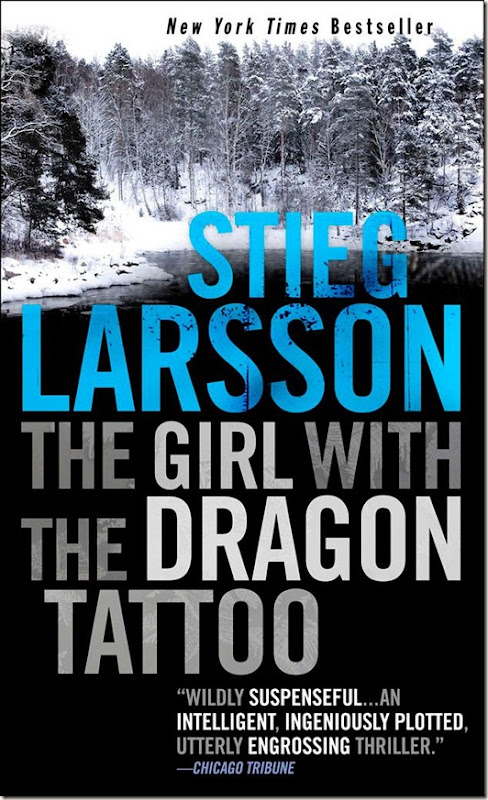 In between the covers verabear 39 s book case the girl with for Book series girl with the dragon tattoo
