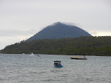 Manado Tua as seen from Liang beach on Bunaken (Dan Quinn, November 2012)