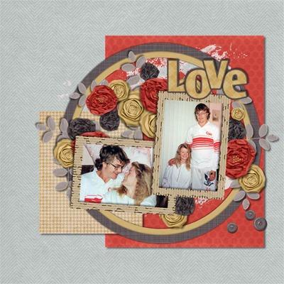 MDK Scraps - Everyday Matters - Love