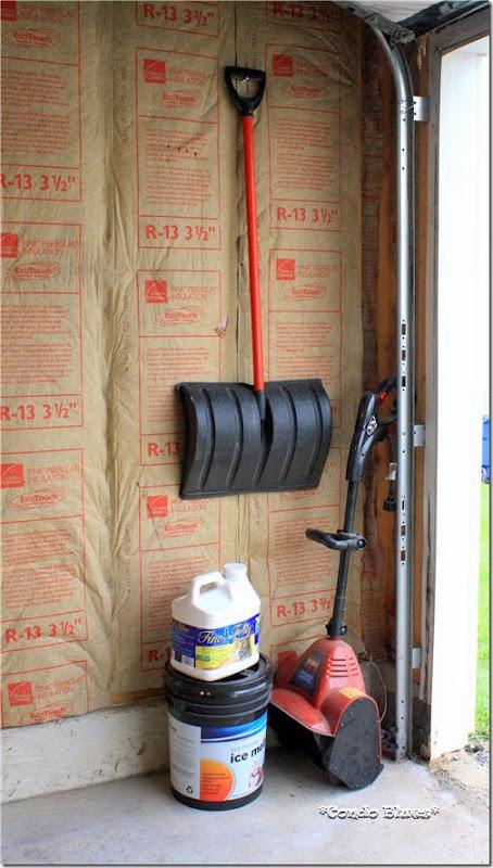 snow tool storage