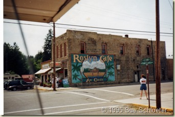 Roslyn WA was the site where Northern Exposure was filmed