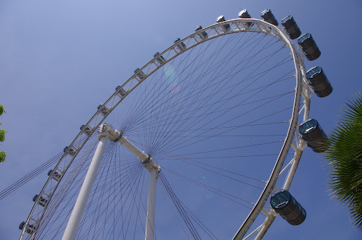 The Singapore Flyer is the largest Giant Observation Wheel (GOW) in the world.