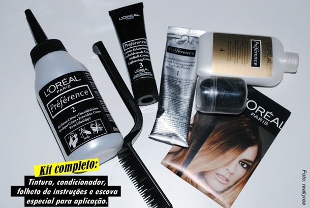 l'oreal ombres hair kit ombre hair