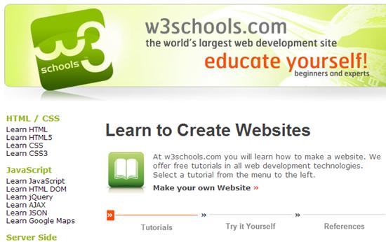 w3schools-web-development