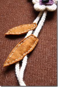 collana lana e feltro 1-5