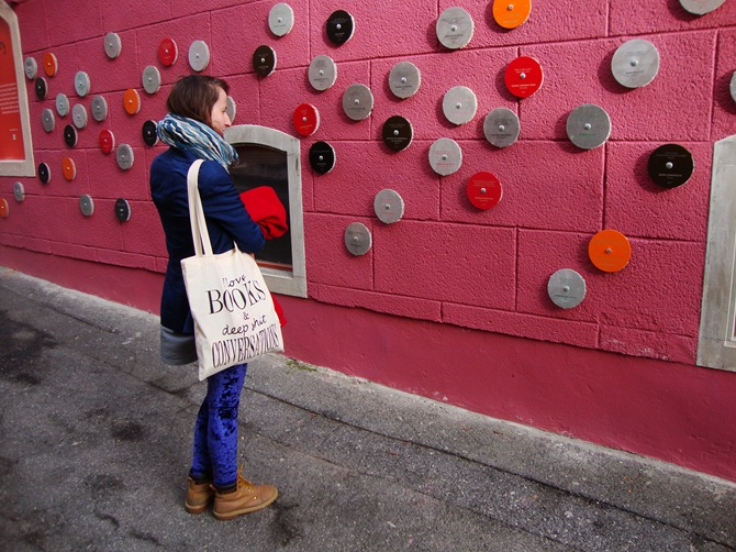 wall of poetry, Ptuj, Slovenia