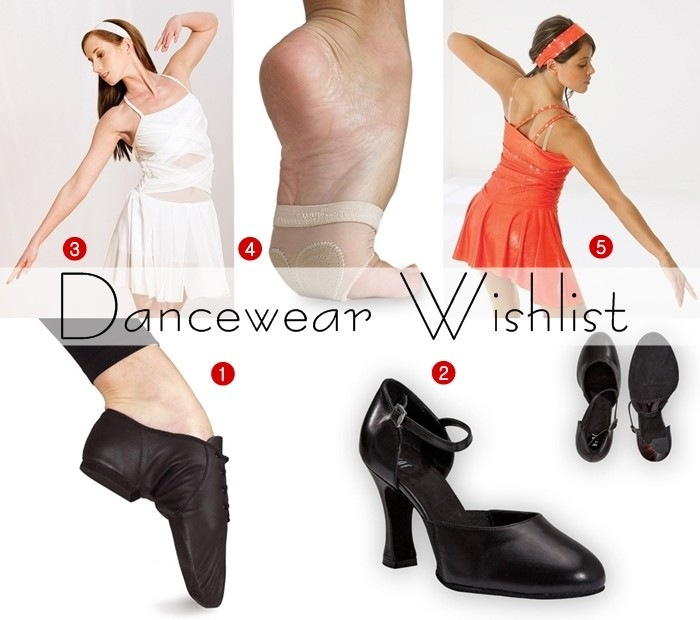 dancewear collage
