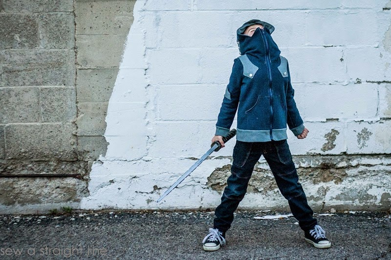 knight hoodie Sew a Staight Line-3