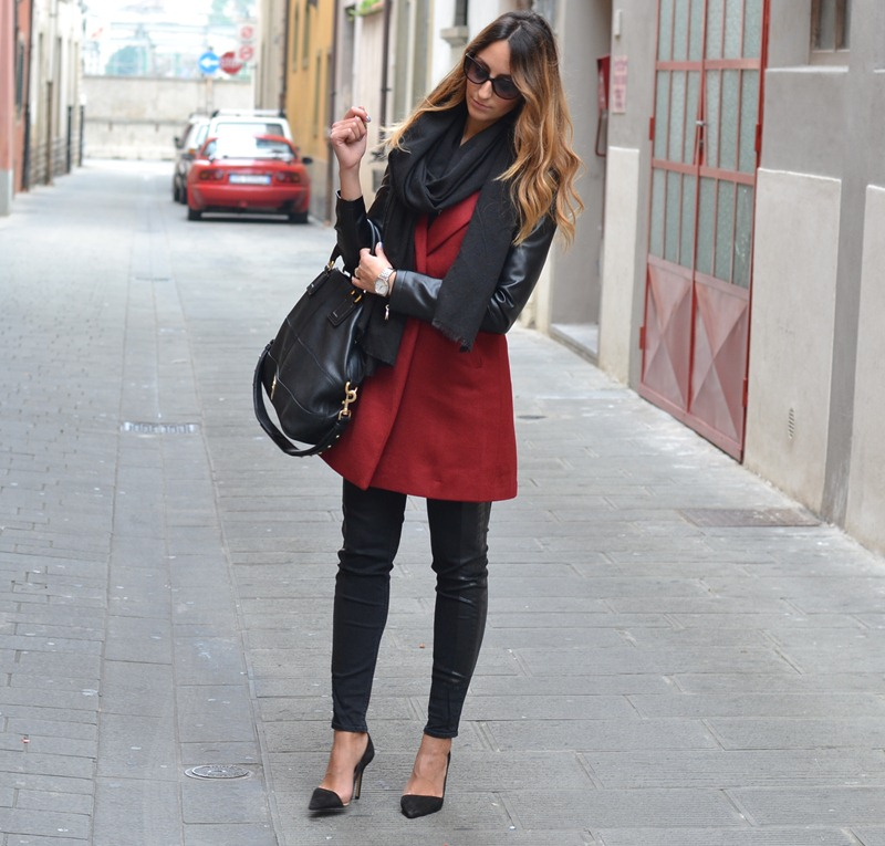 Sheinside, Sheinside coat, Zara, Zara pumps, Zara shoes, italian fashion bloggers, fashion blogger italiane, fashion blogger firenze, H&amp;M, Dior sunglasses, Givenchy Bag, Givenchy Bugatti bag