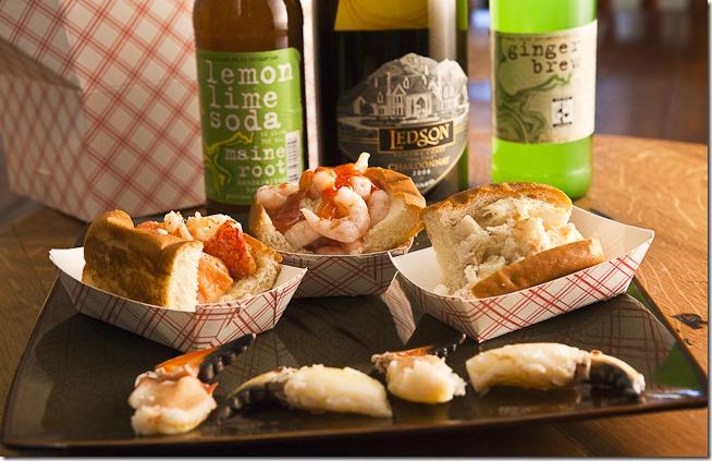 Lobster Roll Shrimp Roll Crab Roll-2