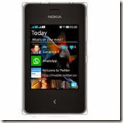 Buy Nokia Asha 500 Mobile for Rs.2603 .only