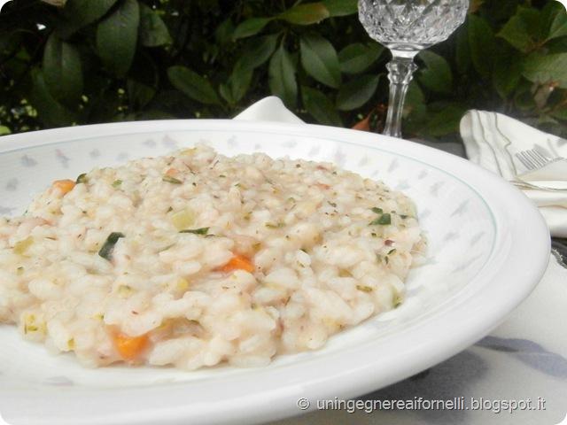 risotto alici zucchine mozzarella fiordilatte vialone nano riso
