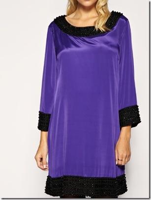 Beaded tunic dress