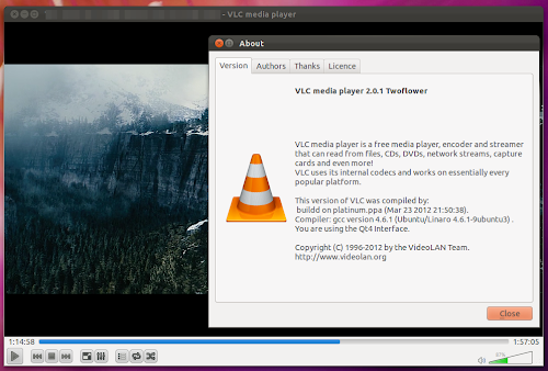 VLC 2.0.1 su Ubuntu