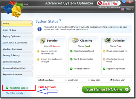 Adavanced System Optimizer Full