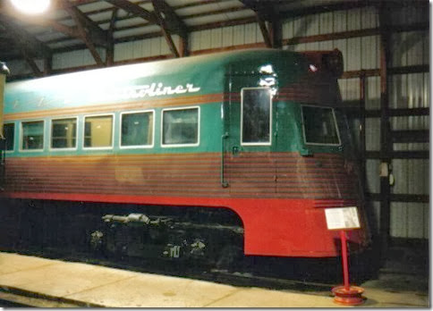 North Shore Line Electroliner at the Illinois Railway Museum on May 23, 2004