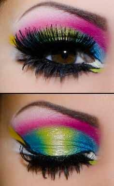 neon eye makeup looks to try this summer  fashion 2d