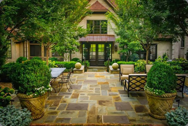 outdoor 941131_530440640348172_775121623_n  Page Duke Landscape Architects via the creeping fig