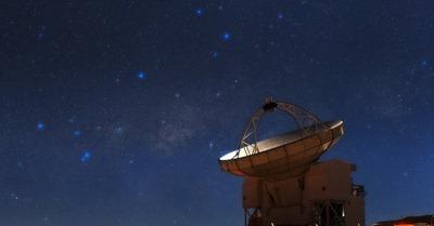 telescópio APEX
