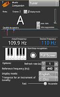 Screenshot of Music Companion Lite