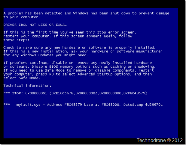 Windows BSOD