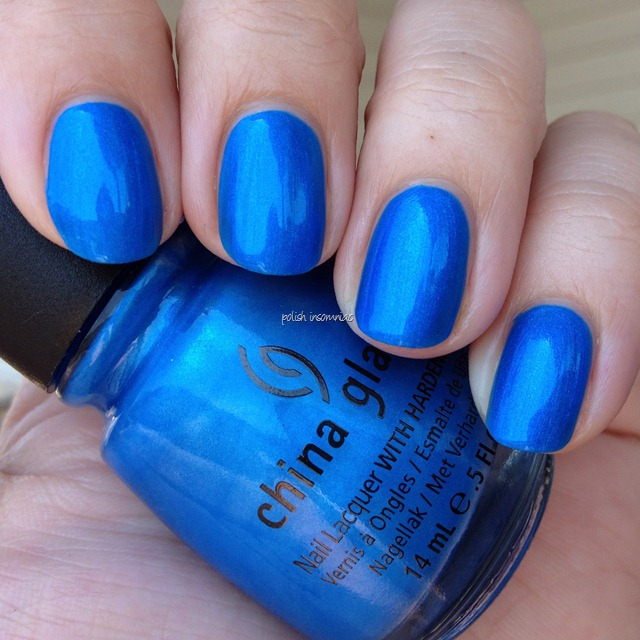China Glaze Splish Splash (Summer Neons)