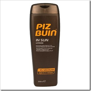 Piz Buin In Sun Lotion SPF 15 Medium Protection