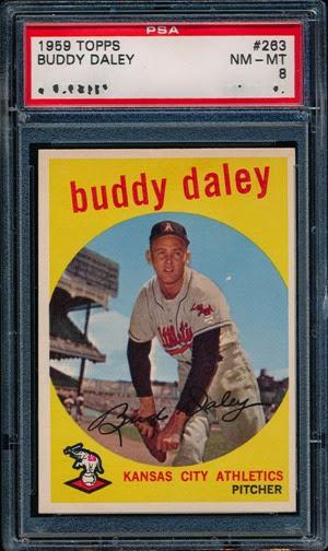 1959 Topps 263 Buddy Daley
