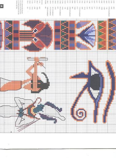 varios punto de cruz 50 jpg patrones punto de cruz egipto sol plantas ...