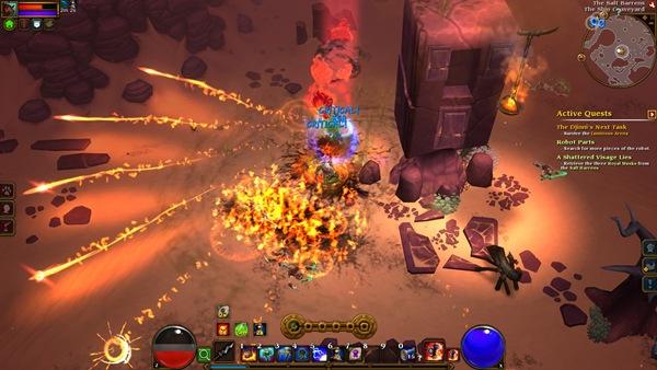 Torchlight II Combat