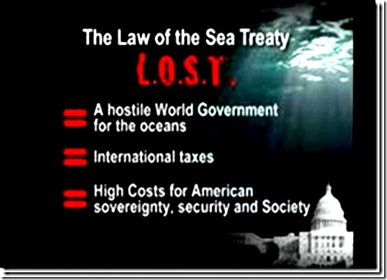 Consequences of Law of the Sea Treaty