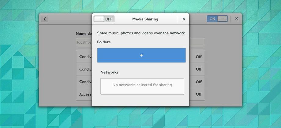 GNOME 3.13.3 condivisione file / directory